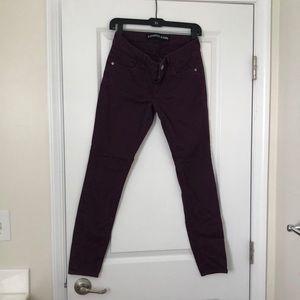 Express Stella low-rise Jean legging